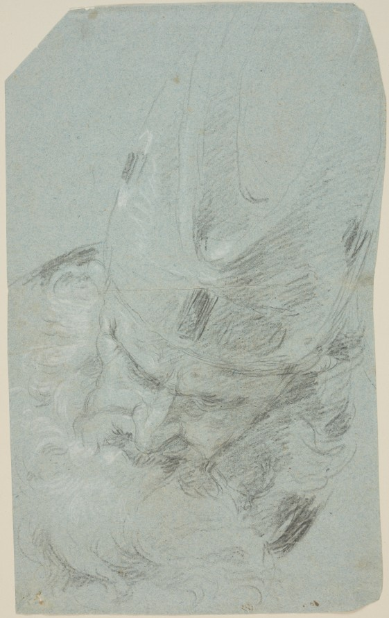 Głowa arcykapłana, Tiepolo, Giambattista (1696-1770) (rysownik)