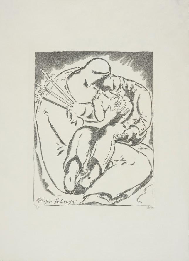 Dolorosa , Geiger, Willi Landshut-Schönbrunn 1878-Monachium 1971) (grafik)