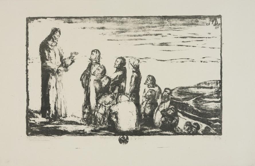 Kazanie na górze I, Jutz, Adolf (1887-1945) (grafik)