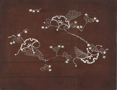 Szablon farbiarski katagami