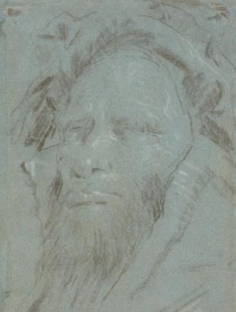 Głowa starego mężczyzny (dawniej: Głowa brodatego starca w zawoju / Głowa starca w turbanie)