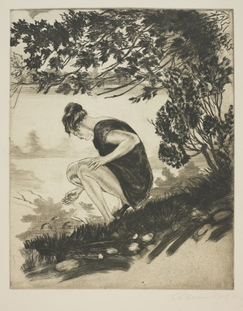 Studium lata (Kobieta nad wodą)