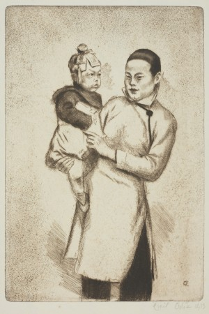 Matka z dzieckiem - Szanghaj (Chińska matka z dzieckiem)
