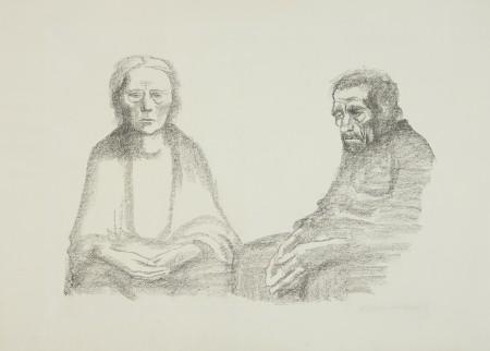 Rodzice (Portret starej kobiety i mężczyzny)