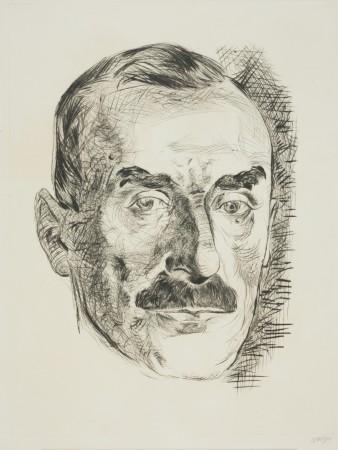 Portret Tomasza Manna